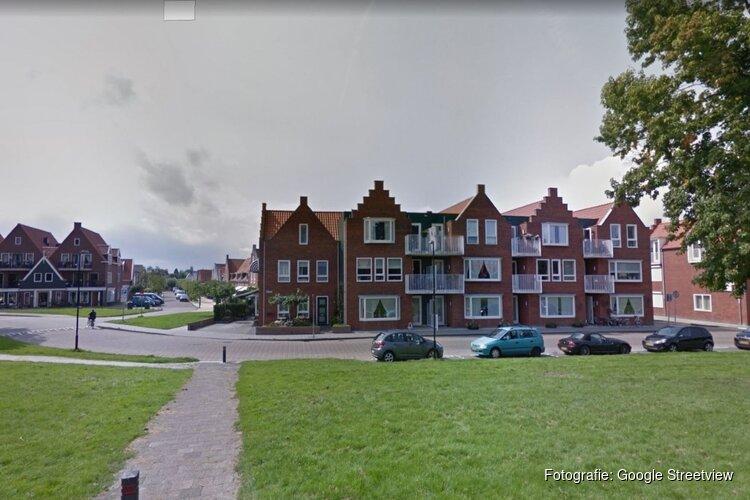Brand gesticht bij woning in Volendam