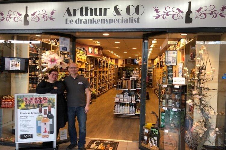 Slijterij Arthur & Co 10 jarig bestaan