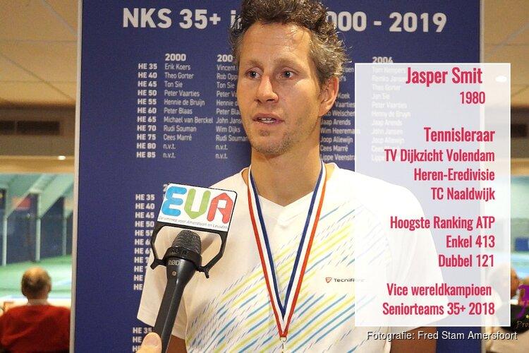 Jasper Smit  nationaal tenniskampioen Seniors 2020 (video)