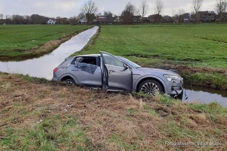 Automobilist gewond op N247