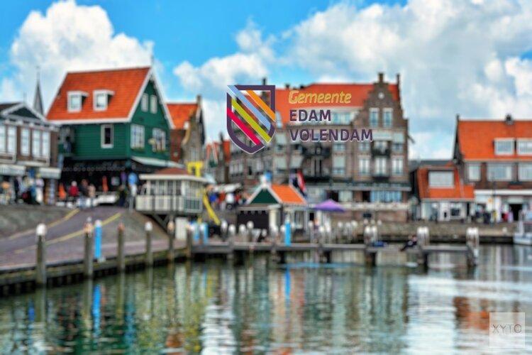 Havens Edam en Volendam ook fysiek op slot