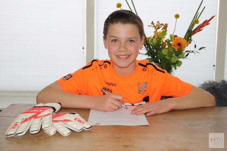 Guus Olgers tekent contract bij FC Volendam